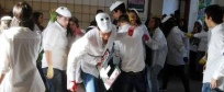 Studenti in flash mob