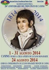 """""""Museo a cielo aperto di Luciano Bonaparte"""" in mostra il catalogo con biografie inedite"""