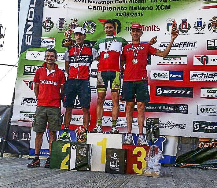 Campionato italiano Marathon di mountain bike. 3° posto in M4 per il viterbese Zefferino Grassi