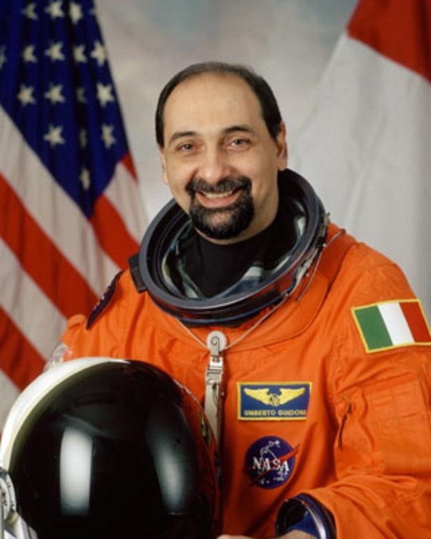 L'astronauta Umberto Guidoni all'Unitus