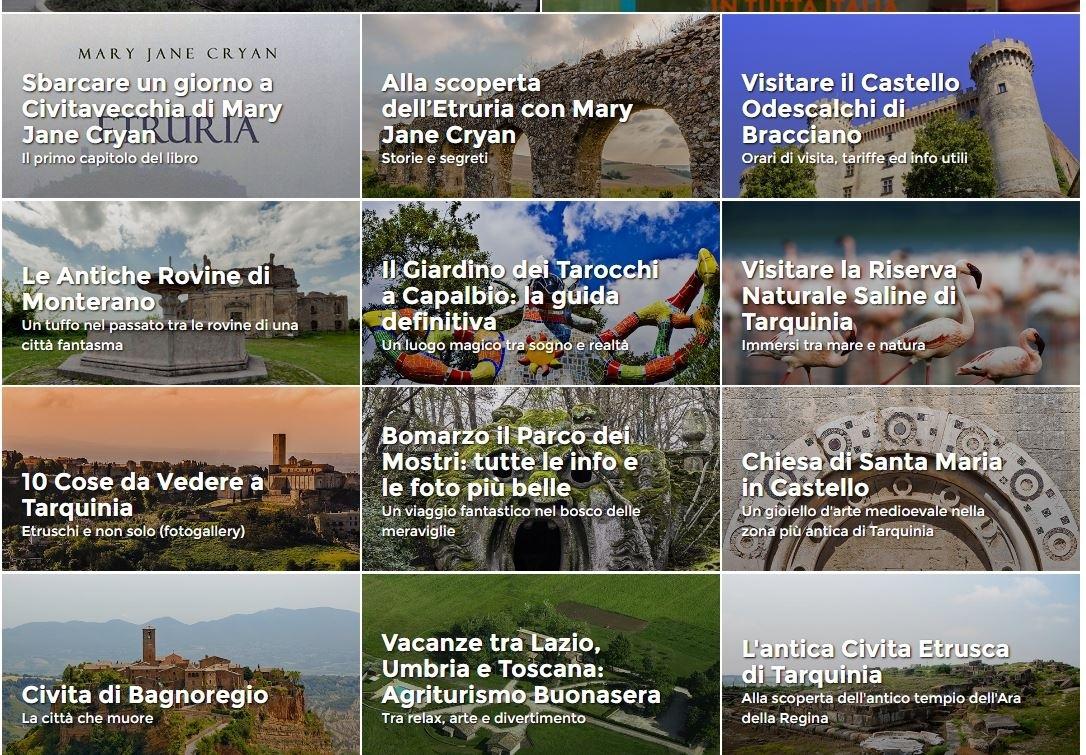 Viterbo inesistente nel portale del turismo dedicato ai croceristi di Civitavecchia