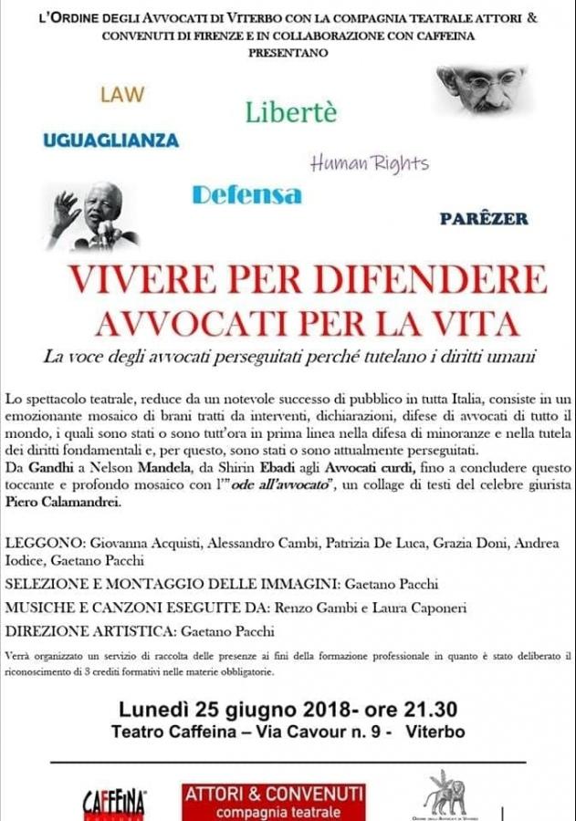 """""""Vivere per difendere. Avvocati per la vita"""". In prima linea per i diritti fondamentali"""