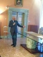 Il sindaco di Caprarola, Eugenio Stellifferi